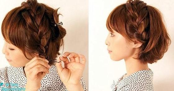 Как сделать прическу в домашних условиях: для коротких волос