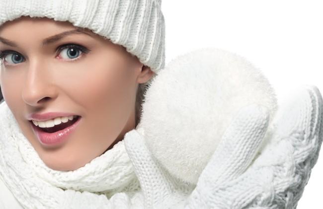 Правильный уход за лицом в зимний период