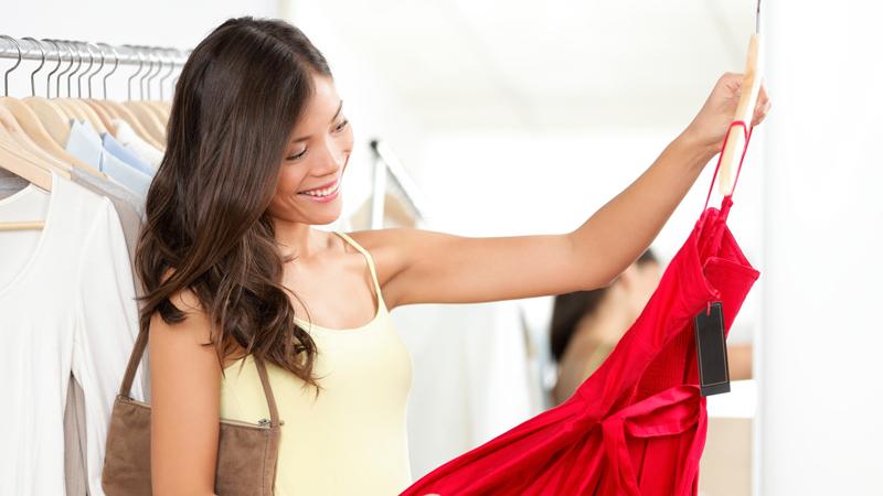 Выбор красивого платья