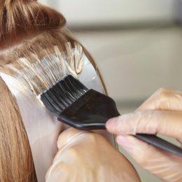 Первое окрашивание волос