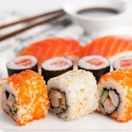 Блюда японской кухни — в каждый дом
