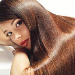 Как шатенке придать блеска волосам