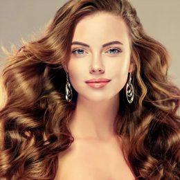 Прически и макияж для прямоугольного лица