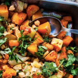 Запекание овощей