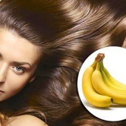 Маски для волос на основе банана