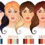 Красим волосы по цветотипу