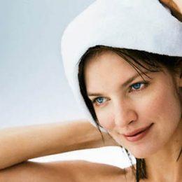 Лечебное горячее обёртывание волос