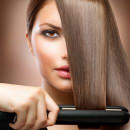 Как выпрямить ухоженные волосы, не нанеся им вреда?